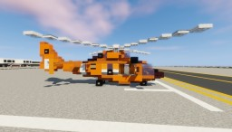 Eurocopter HH-65 Dolphin Minecraft Map & Project