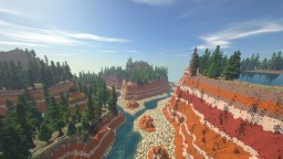 Red Canyon 1.12.2 DOWNLOADABLE Minecraft Map & Project