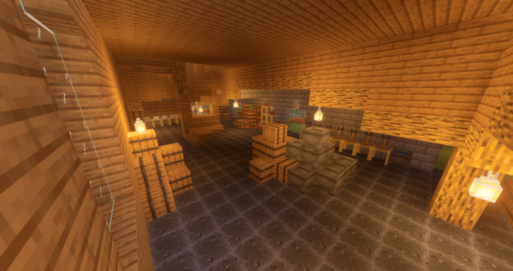 Marketplace InteriorFirst Floor
