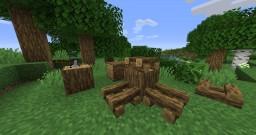 Better Campfire Model Minecraft Texture Pack
