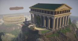 Project Acropolis | Team Eklezia. Minecraft Map & Project