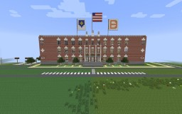 Large City Hall/retail stores Minecraft Map & Project