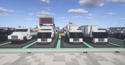 1.5:1 Scale  New York City Department of Sanitation - Unfinished Vehicle Project Minecraft Map & Project