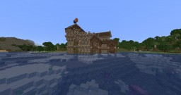 Lakeside Medieval Manor Minecraft Map & Project