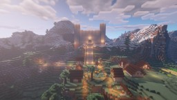 Mountaintop Castle Minecraft Map & Project