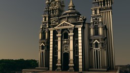 Roveryard cathedral Minecraft Map & Project