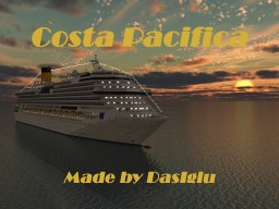 Costa Pacifica | 1.5:1 Scale | Version 1.14+ | Made by DasIglu Minecraft Map & Project