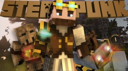 Steampunk in One Command Minecraft Map & Project
