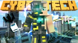 CyberTech in One Command Minecraft Map & Project