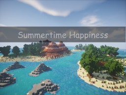 Summertime Happiness - Islands Minecraft Map & Project