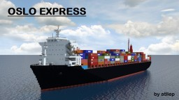 Oslo Express - Container Ship Minecraft Map & Project
