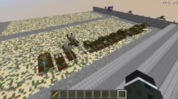(apology for being on a long hiatus) Every North Korean Tank (21 vehicles) Minecraft Map & Project