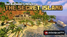 The Secret Island Minecraft Map & Project