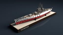 French Battleship Jean-Bart   Richelieu class [1:1] Minecraft Map & Project