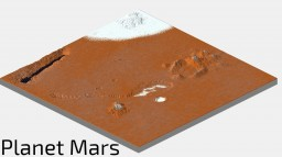 Mars Planet Minecraft Map & Project