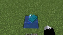 Turn Concrete Powder to Concrete while in Item Form Minecraft Data Pack