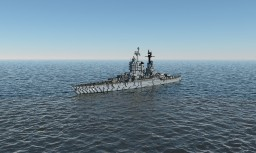 USS Mississippi (BB-41) Minecraft Map & Project
