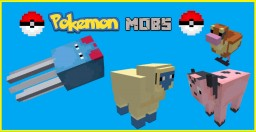 Pokemon Mobs Pack Minecraft Texture Pack