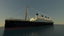 RMS Titanic 1912 Minecraft Map & Project