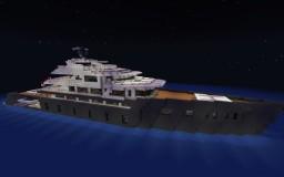 Superyacht Mikhail Kutuzov Minecraft Map & Project