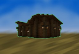 Horse Stable 2.0v Minecraft Map & Project