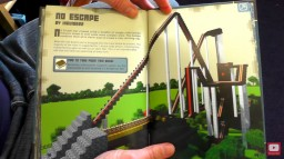 No Escape - The Rollercoaster (As featured in the Minecraft construction handbook!) Minecraft Map & Project