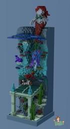 Coral Column [Organics / Plot] Minecraft Map & Project