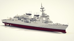 Jmsdf DD 179 maya (maya-class) destroyer 2:1 Minecraft Map & Project