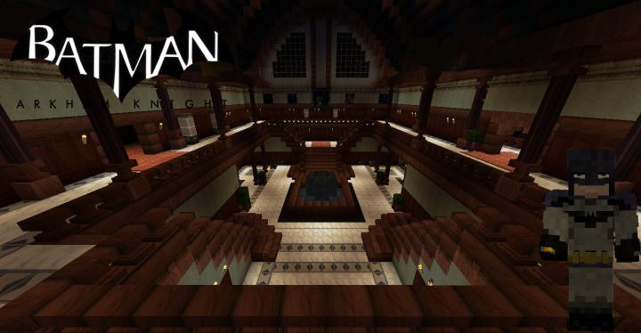Batman Arkham City Wayne Manor Challenge Map V2.0 Minecraft ...