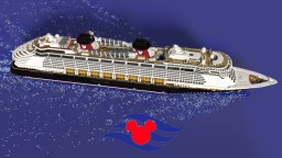 Disney Fantasy [1.25:1 Scale - FIRST EVER! - Full Interior! - Replica - 1.13.1] Minecraft Map & Project