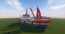 Australian Fishing Vessel  (1.5:1) Minecraft Map & Project