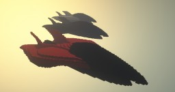 RASF XF-001 - Futuristic Fighter Jet Minecraft Map & Project