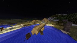 Village on the lake Minecraft Map & Project