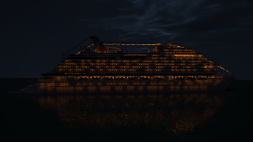 Side Veiw at Night
