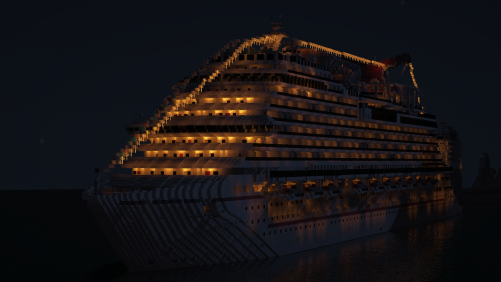 Carnival Vista at Night