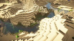 Perfect Desert Exploration Seed (Large Biomes) [1.14+] Minecraft Map & Project