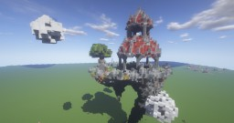Epic Skyblock Spawn Time Lapse Minecraft Map & Project