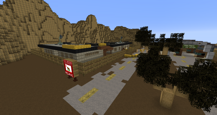 Project Mojave - Fallout New Vegas map Minecraft Project