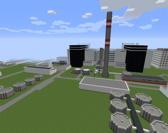 Units 1 & 2 with some outside structures.