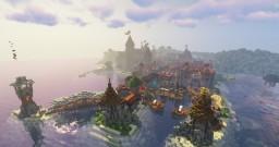 The Kingdom of Caerwyn Minecraft Map & Project