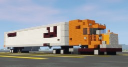 Kenworth T680 Semi Truck With Hallmark Trailer Minecraft Map & Project