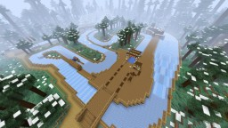 Snow Hill Ice Track [1.14+] Minecraft Map & Project