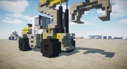 Liebherr Log Handler L580 Minecraft Map & Project
