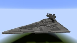 Imperial II class Star Destroyer (Star Wars: The Empire Strikes Back/Return of the Jedi) Minecraft Map & Project