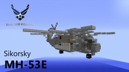 Helicopter - Sikorsky MH-53E Minecraft Map & Project