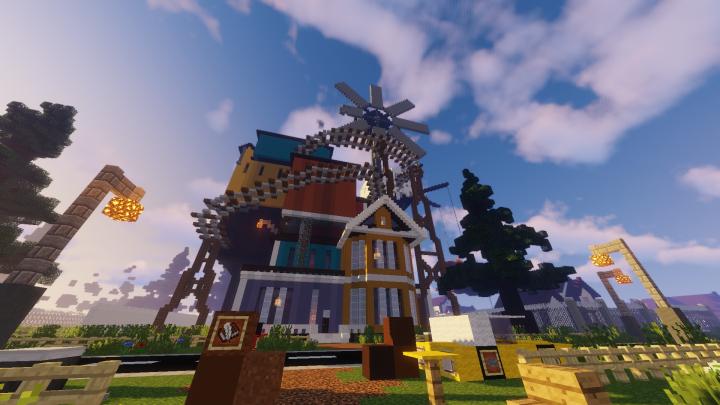 Hello Neighbor Alpha 3 House (1 14 2) Minecraft Project