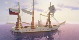 Gunboat Schooner , Virgen de la Covadonga Minecraft Map & Project