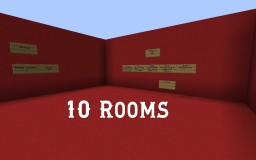 10 Rooms Puzzle Map Minecraft Map & Project