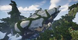 Dragon Skull Terrain Minecraft Map & Project