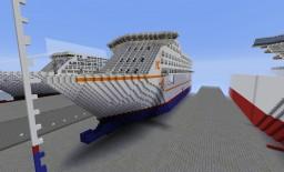 Hawk COMBO - Cruise Ship Minecraft Map & Project